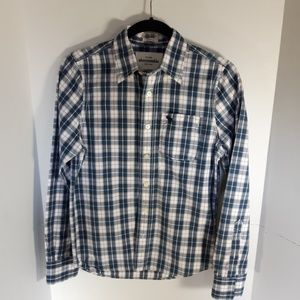 Abercrombie & Fitch muscle button down.Large